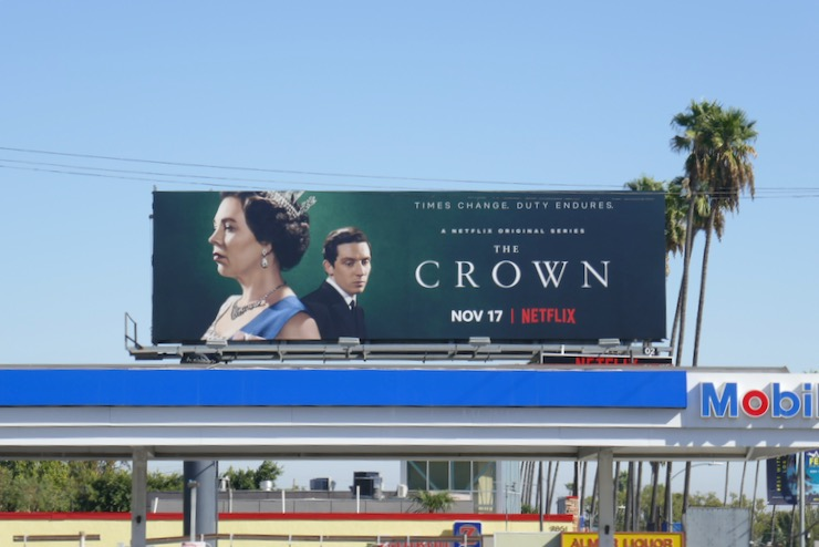 Crown season 3 billboard