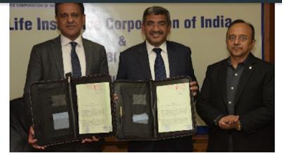 IDBI Bank & LIC of India sign BANCA Agreement
