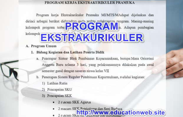 Program Ekstrakurikuler Pramuka SD Tahun 2019 2020
