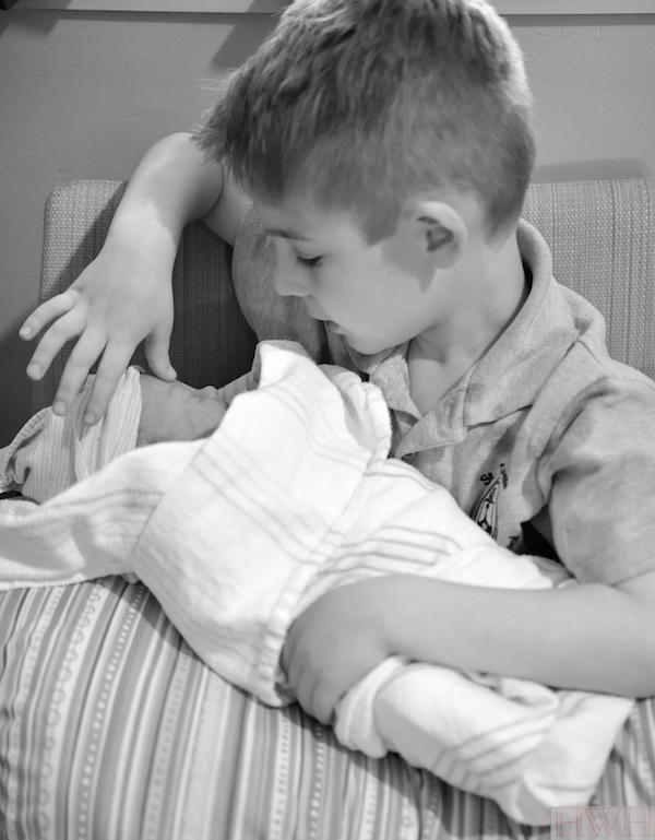 Baby birth story photos