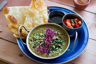 Indian breakfast, Eatery Hopping: Vegan Brunch at Milgi, Cardiff, www.imogenmolly.co.uk