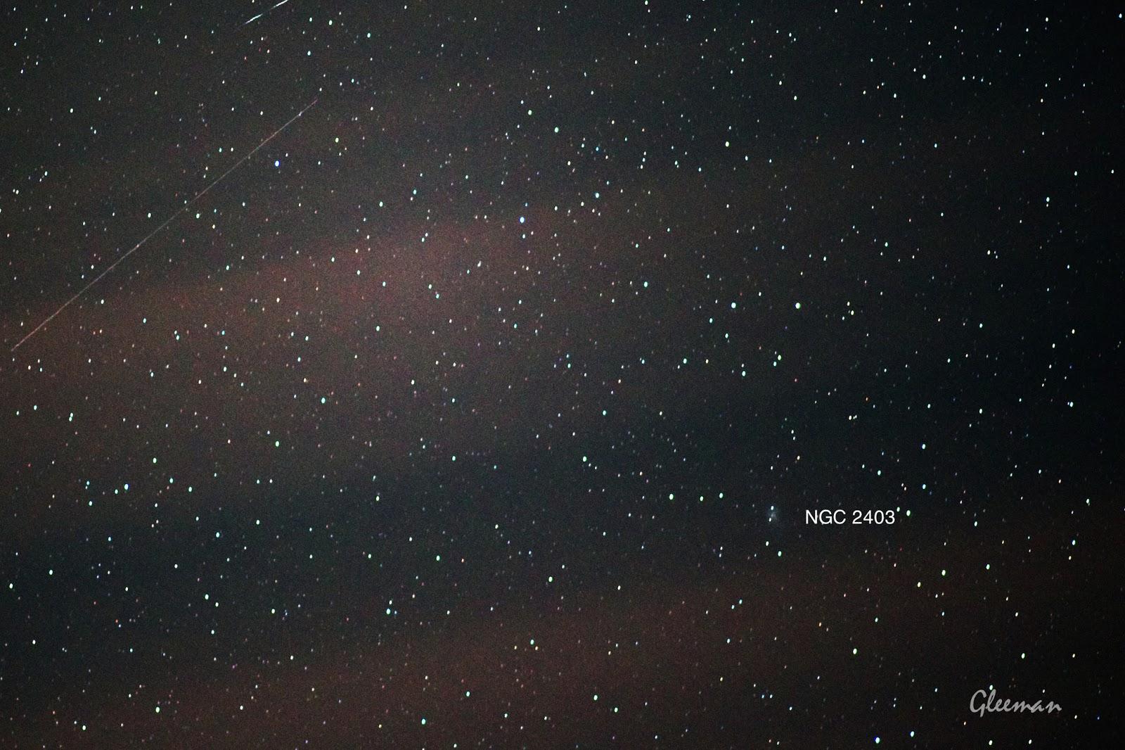 NGC 2403/ Pentax  K5 + Pentax O-GPS1 + DA*200