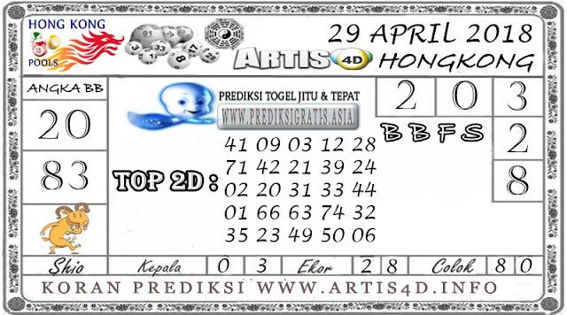 PREDIKSI TOGEL HONGKONG 29 APRIL 2018