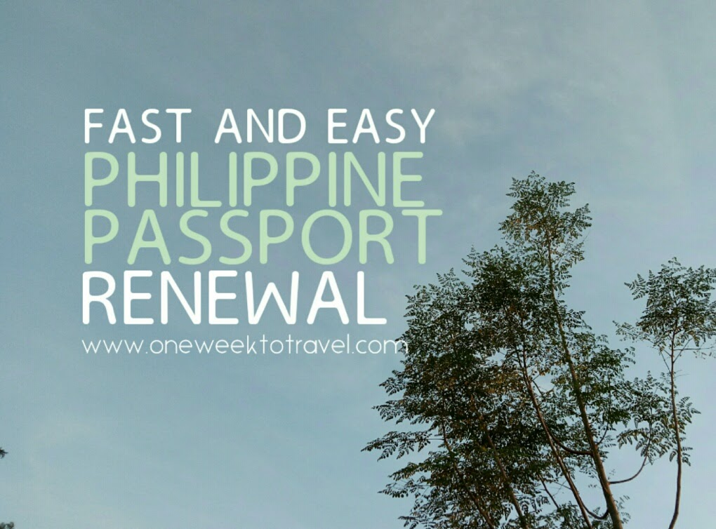 Fast And Easy Philippine Passport Renewal At Dfa Aseana