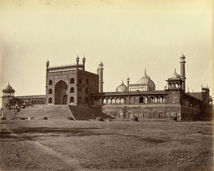 Jama Masjid, Delhi - 1870's