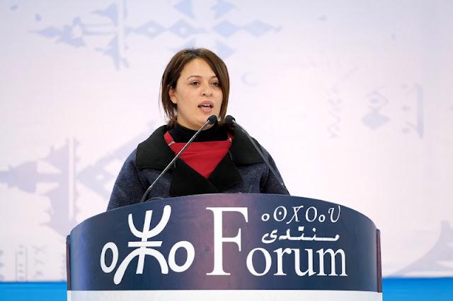 الناشطة الأمازيغية التونسية نهى قرين