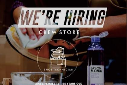 Lowongan Kerja Crew Store Shoe Technician Tasikmalaya