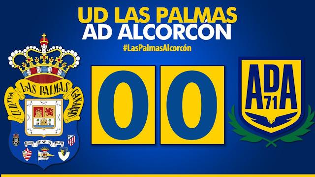 Marcador final UD Las Palmas - AD Alcorcón