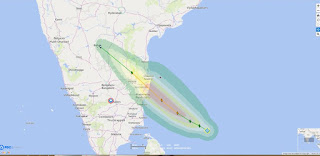 Niver cyclone report by Indian Metrological department