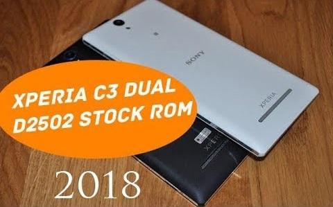 Rom gốc Sony Xperia C3 Dual D2502 Tiếng Việt