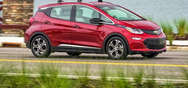 Essai de la Chevrolet Bolt 2020