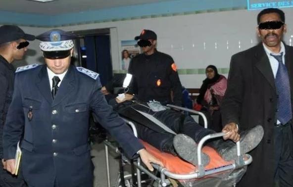 مكناس..وضع شرطي بقسم الانعاش بعد إصابته بغيبوبة في تدخل أمني صباح عيد الفطر