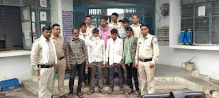 जिला पुलिस टीम के नेतृत्व में वन विभाग के डिप्टी रेंजर एवं फॉरेस्ट जवान पर हमला करने वालों को किया गिरफ्तार