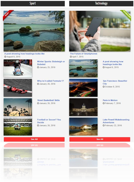 Homepage images AltavaStar WordPress Theme - Clevious