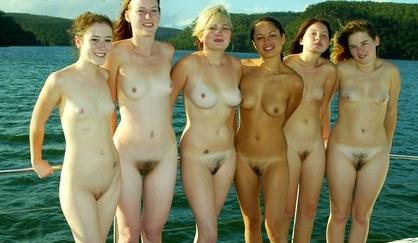 groups of naked women masturbating