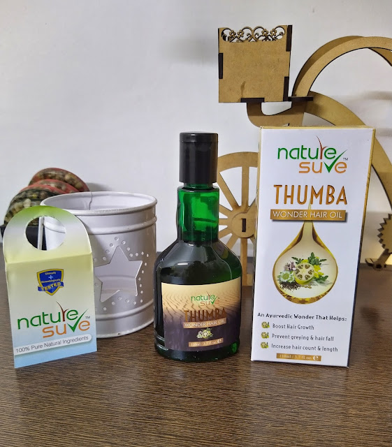 Nature Sure Thumba Wonder Oil Review and Pictures