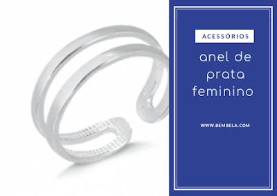 anel de prata feminino: como combinar e arrasar no look