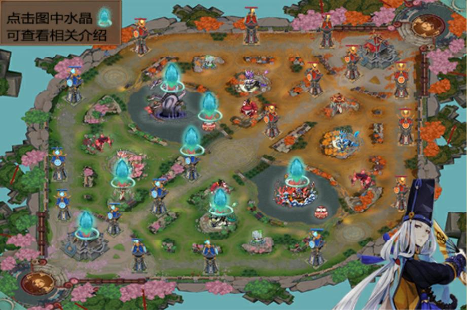 Onmyoji Arena ข้อมูลสำคัญ Classic map By Ashimeke