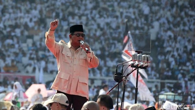 Tumbuhnya Ekonomi RI 5% Dicap Baik, Prabowo: Ndasmu!