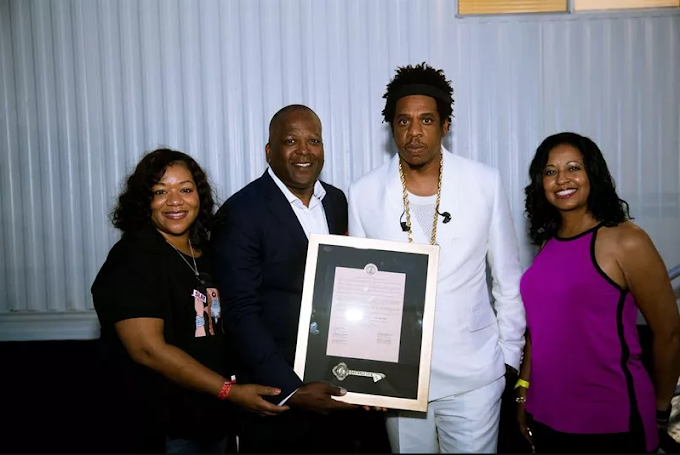 Beyonce and Jay-Z honoured with the key to Columbia, South Carolina