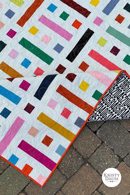 FLOOR PLAN Quilt Pattern - Kristy Daum