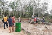 Polisi Amankan 5 Pelaku Tambang Emas Ilegal di Unit 1 Desa Perintis