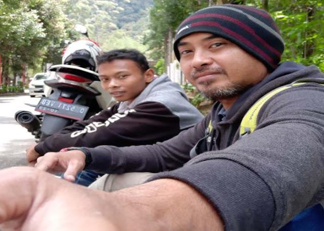 Backpackeran Ke kawah Putih Ciwidey Bandung Naik Motor