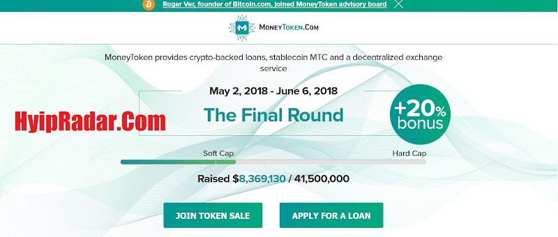 Review ICO MoneyToken [IMT] - Start May, 2018