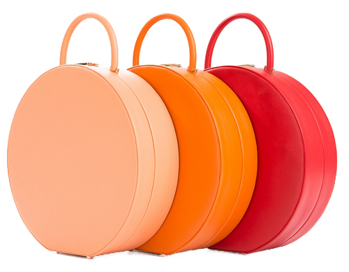 Classic Round Luggage Carry-On Cases from BU Wood