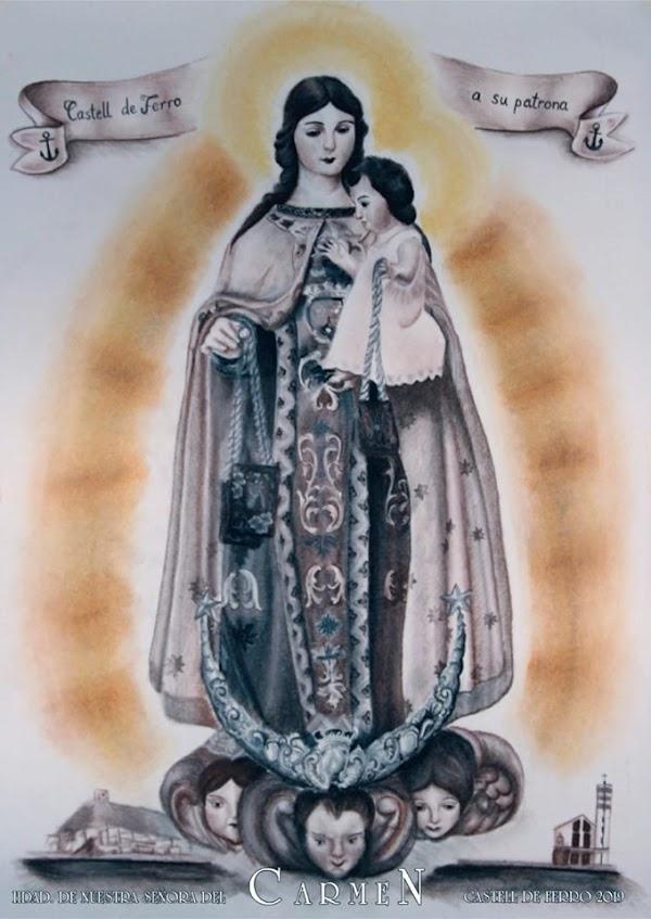 Cultos y Procesiónes de la Virgen del Carmen en diferentes localidades Granadinas