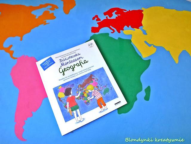 Biblioteczka Montessori - Geografia.