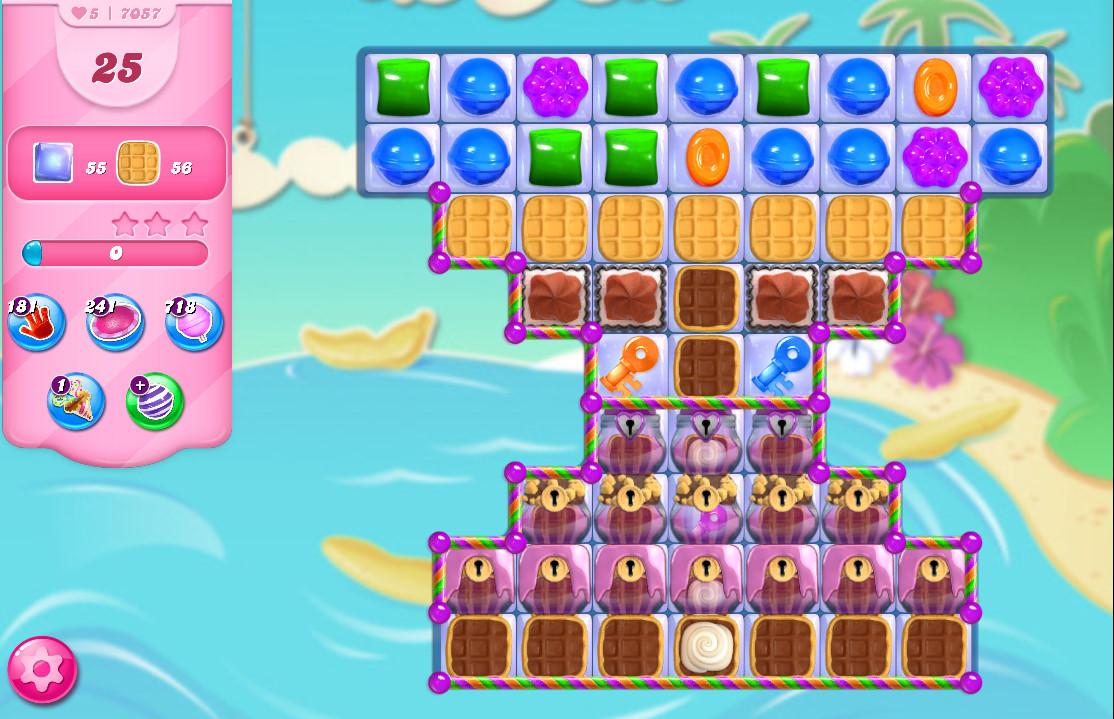 Candy Crush Saga level 7057