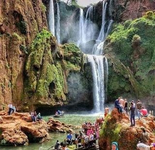 شلالات (اوزود) جنة من جنان المغرب
