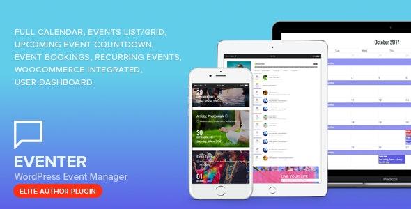 Download Eventer v2.8 - WordPress Event Manager Plugin