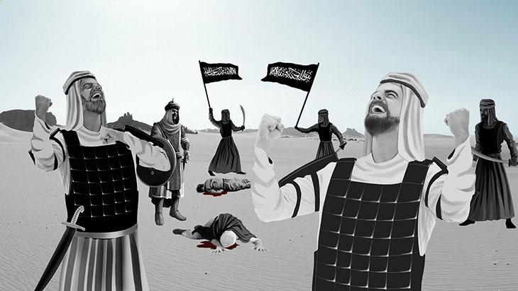 DP, din, islamiyet, Allah savaşa katılıyor,Allah, Enfal suresi, Allah'ın yarattığı insanlarla savaşması,Yüzleri kurusun,Allah'ın bedduası, Kuran Muhammedin el yazmasıdır, Kureyş ordusu ile savaşta