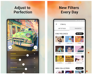 Features Many Filters