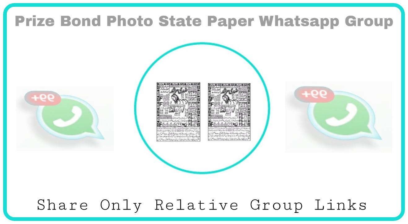 PrizeBond VIP Whatsapp Group Links - Group Links
