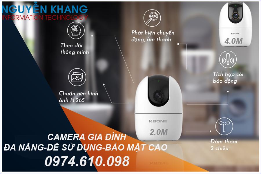 camera IP Wifi KBONE chính hãng giá rẻ