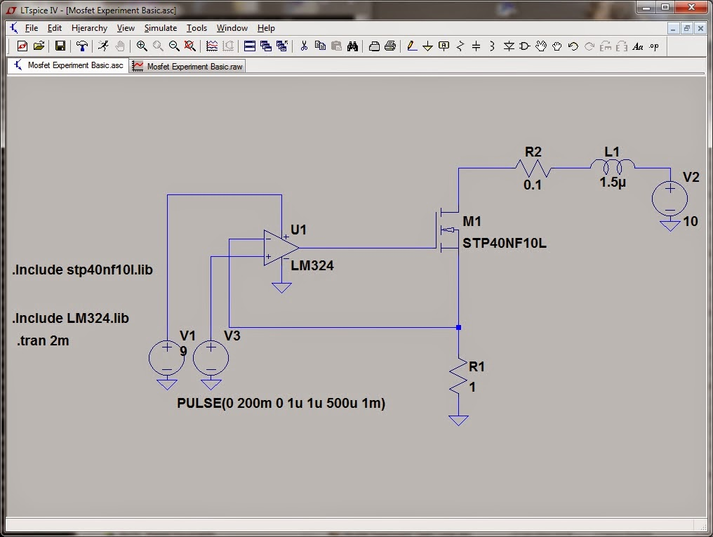 Dummy Load Circuit Constant Current Schema Dummy Load Circuit
