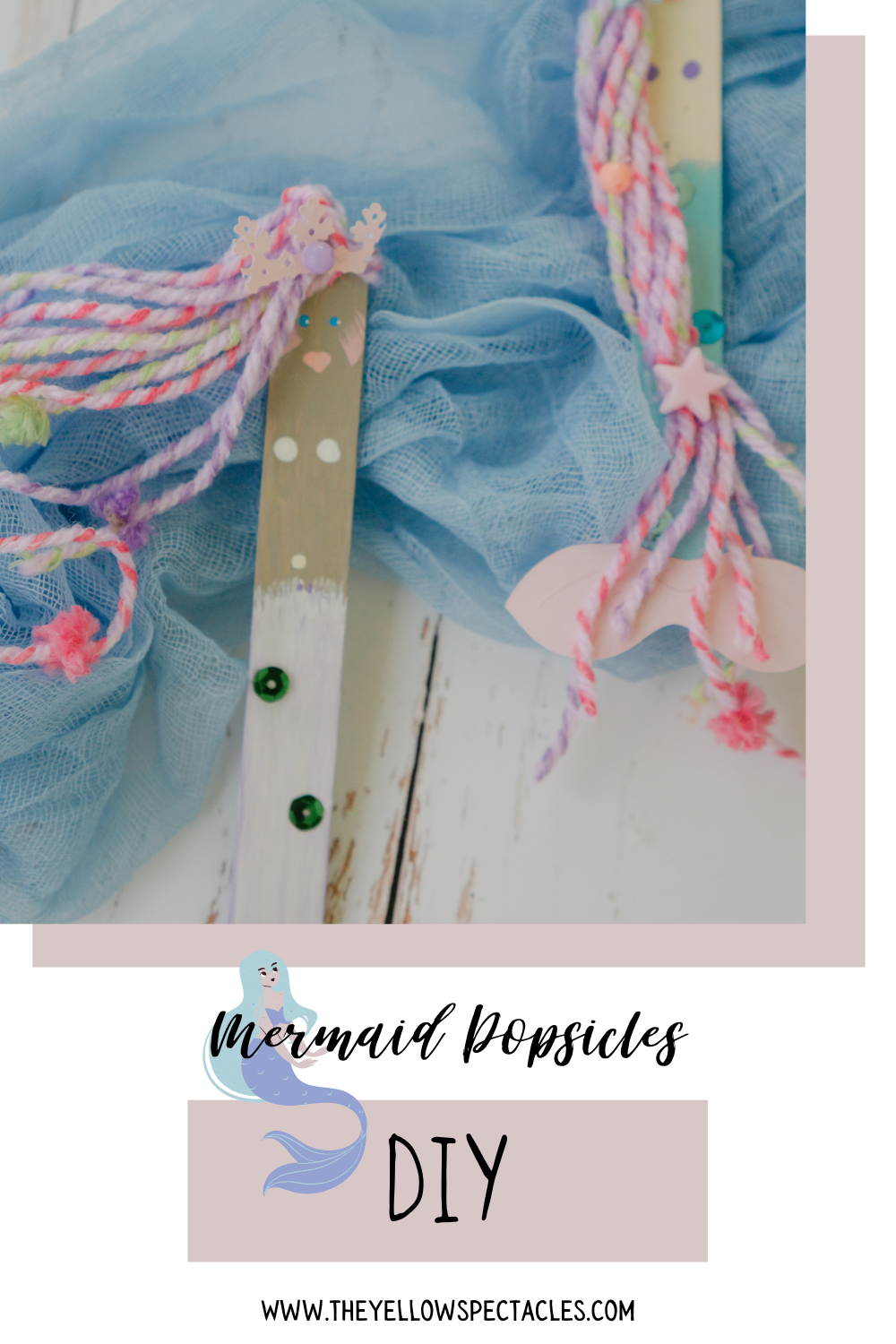 mermaid crafts for kids and adults