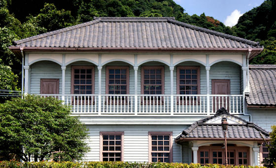 Former Office of the Serigano Gold Mine in Kagoshima