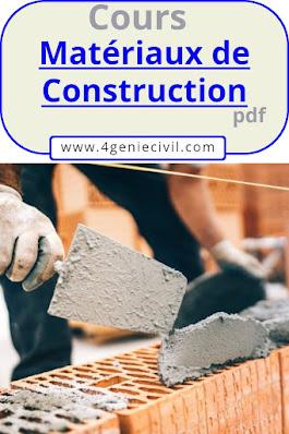 les matériaux de construction pdf, liste de matériaux de construction d'une maison