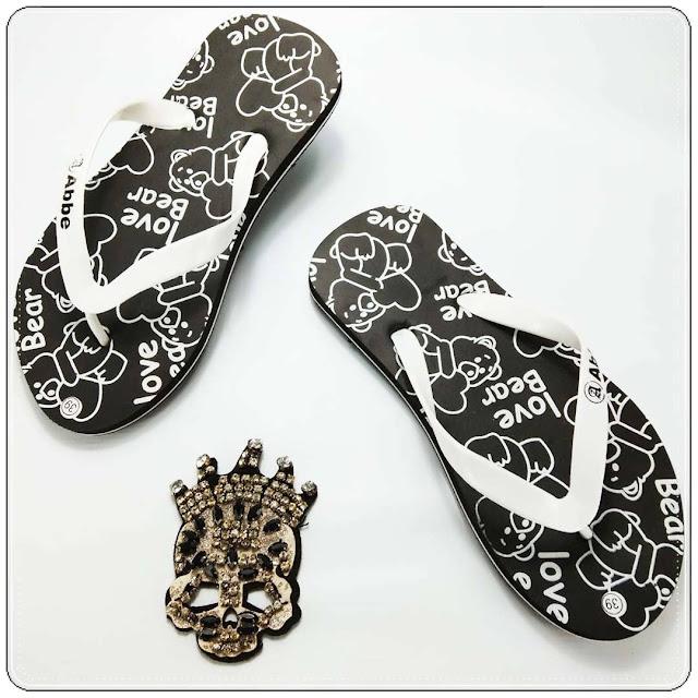 Sandal Love Bear Simplek - Pabrik Sandal Jepit Murah 0858 6085 4424