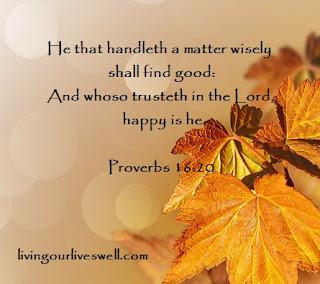 Proverbs 16:20