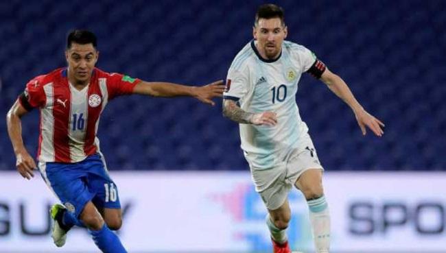 ليونيل ميسي يقود الأرجنتين ضد باراجواي