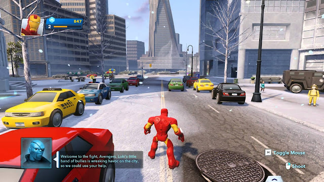 Disney Infinity 2.0: Marvel Super Heroes Screenshot-1