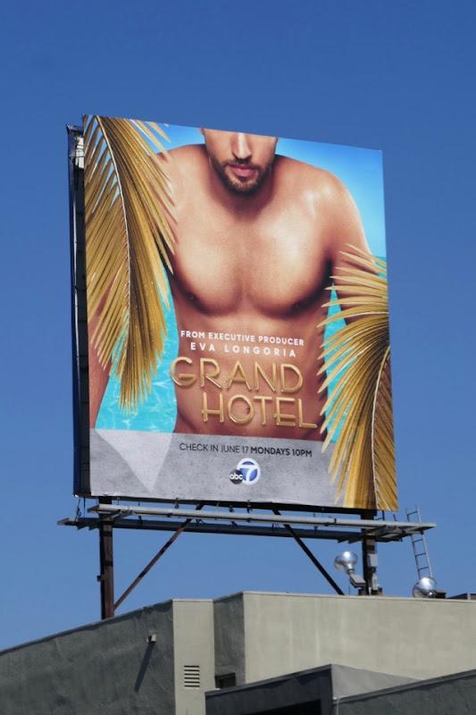 Grand Hotel series premiere billboard