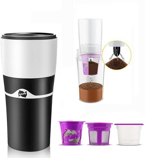 AUNEWSING Portable Thermal Coffee Maker Dripping