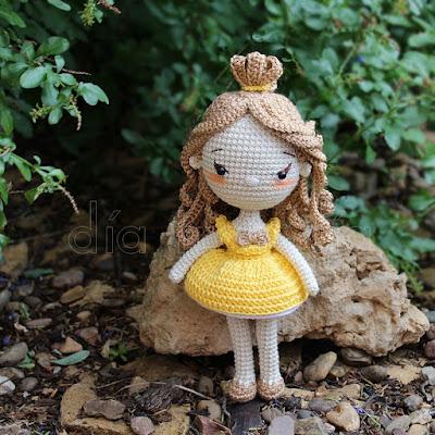 Princesa amigurumi