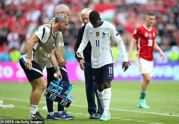 OFFICIAL: France's Dembele ruled out of Euro 2020 with injury